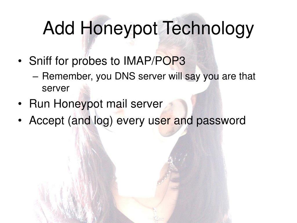 Add Honeypot Technology