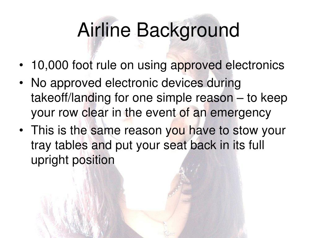 Airline Background