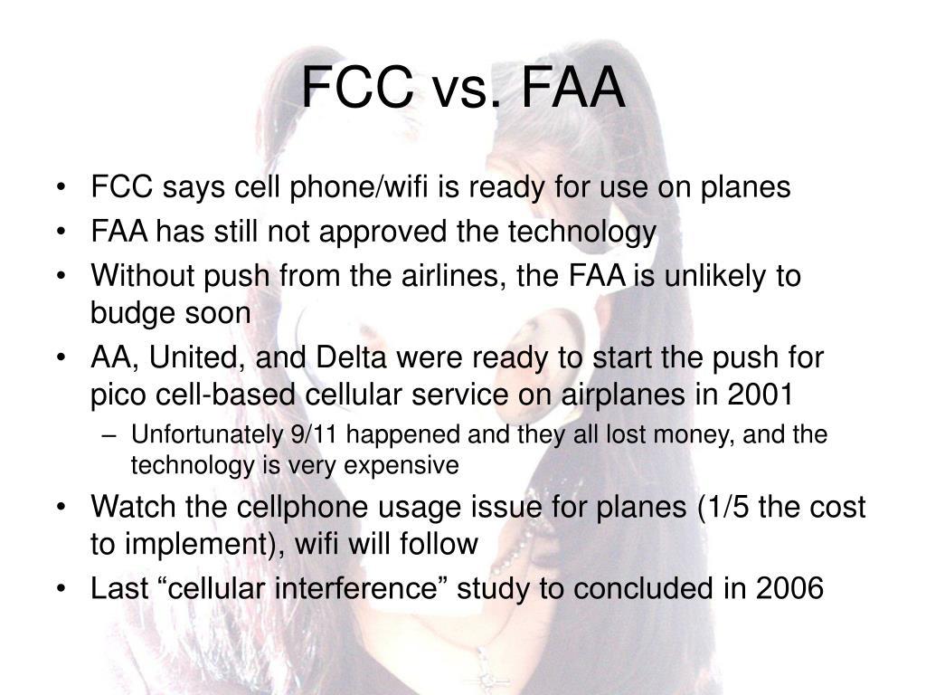 FCC vs. FAA