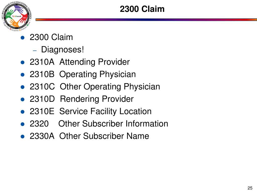 2300 Claim