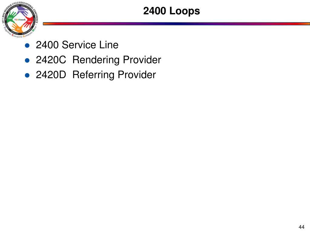 2400 Loops