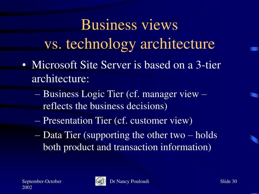 Business views