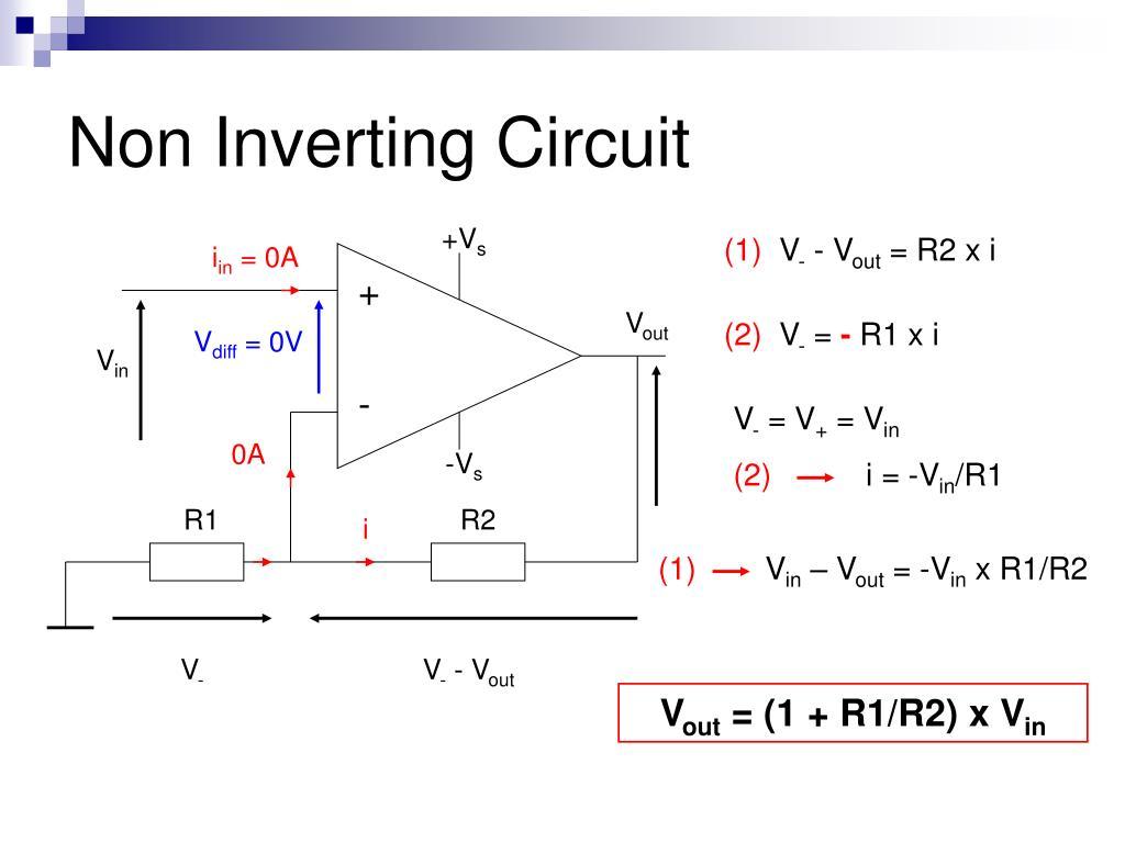 Non Inverting Circuit
