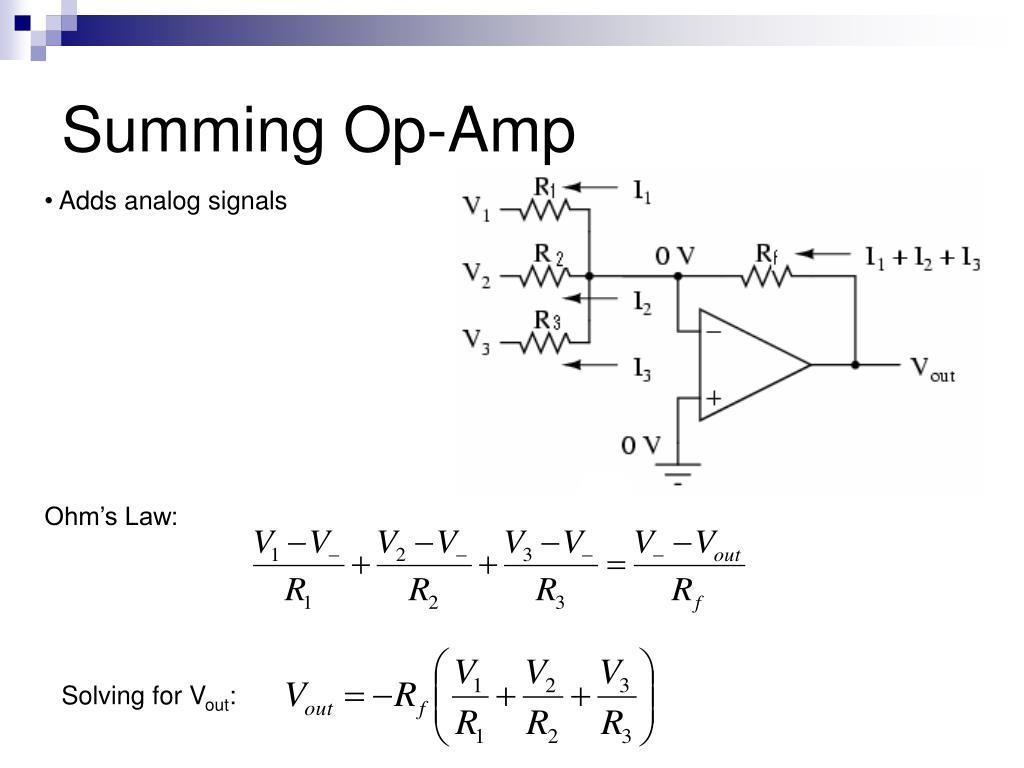 Summing Op-Amp