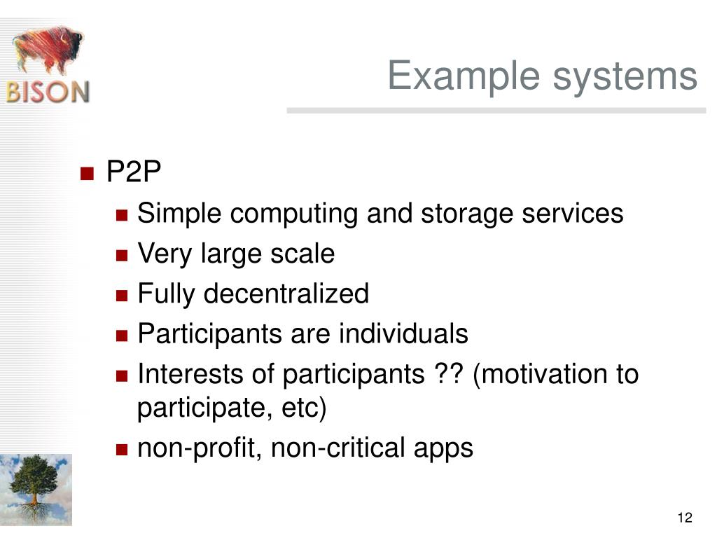 Example systems