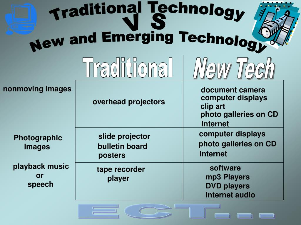 Traditional Technology