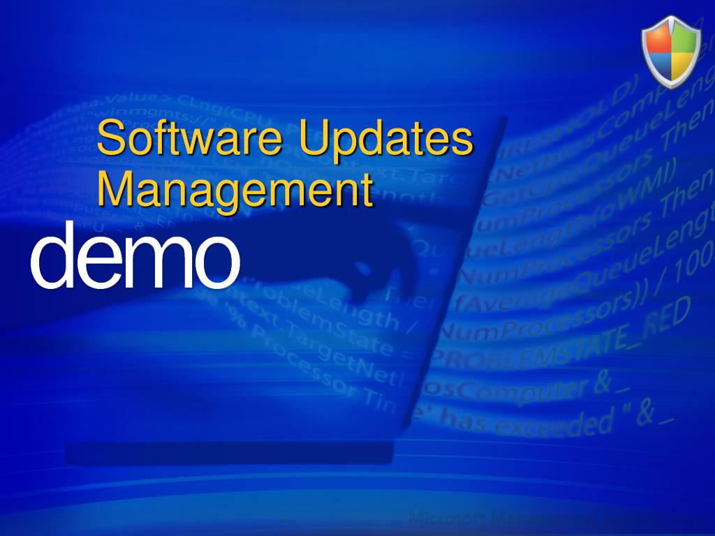 Software Updates Management