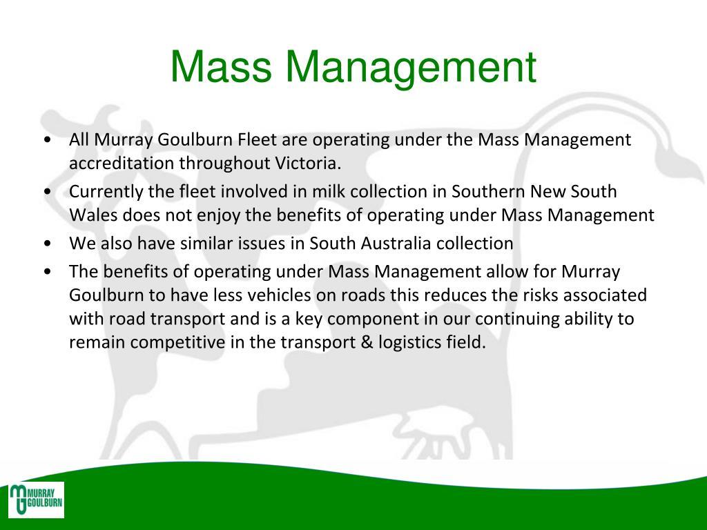 Mass Management