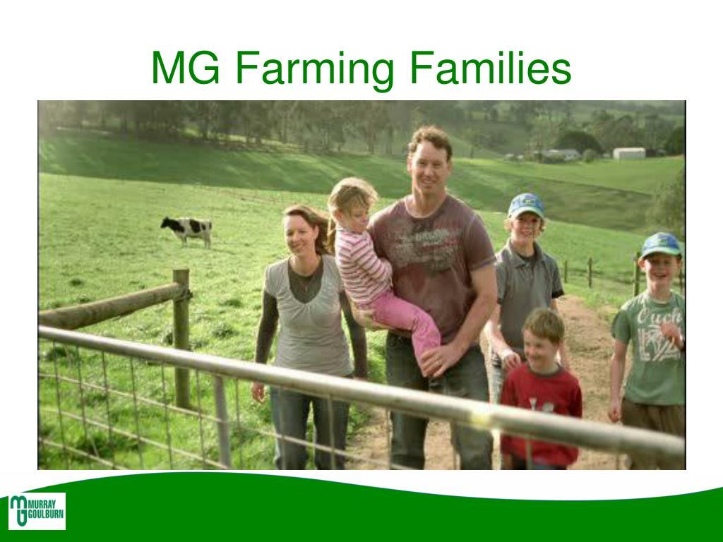 MG Farming Families