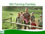 mg farming families