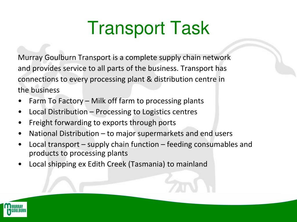 Transport Task