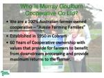 who is murray goulburn cooperative co ltd