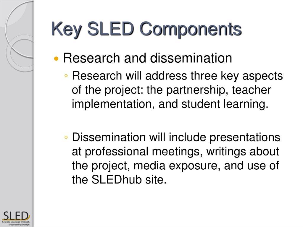 Key SLED Components