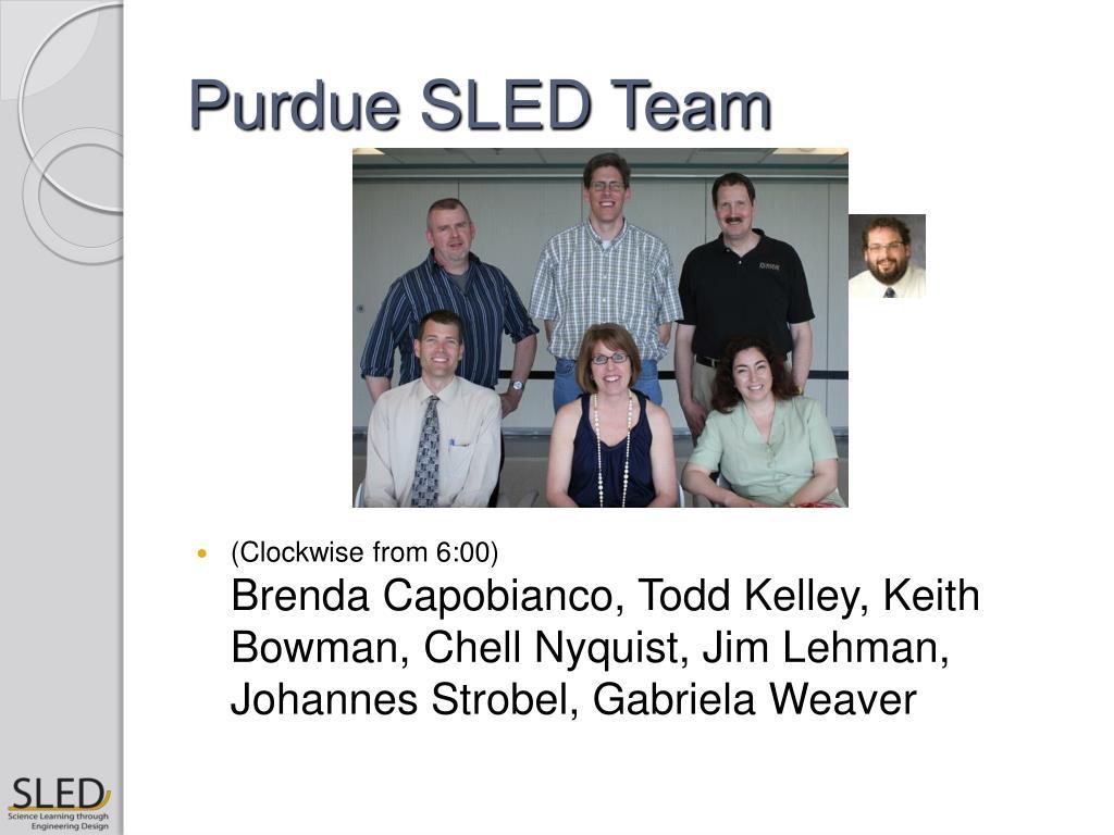 Purdue SLED Team
