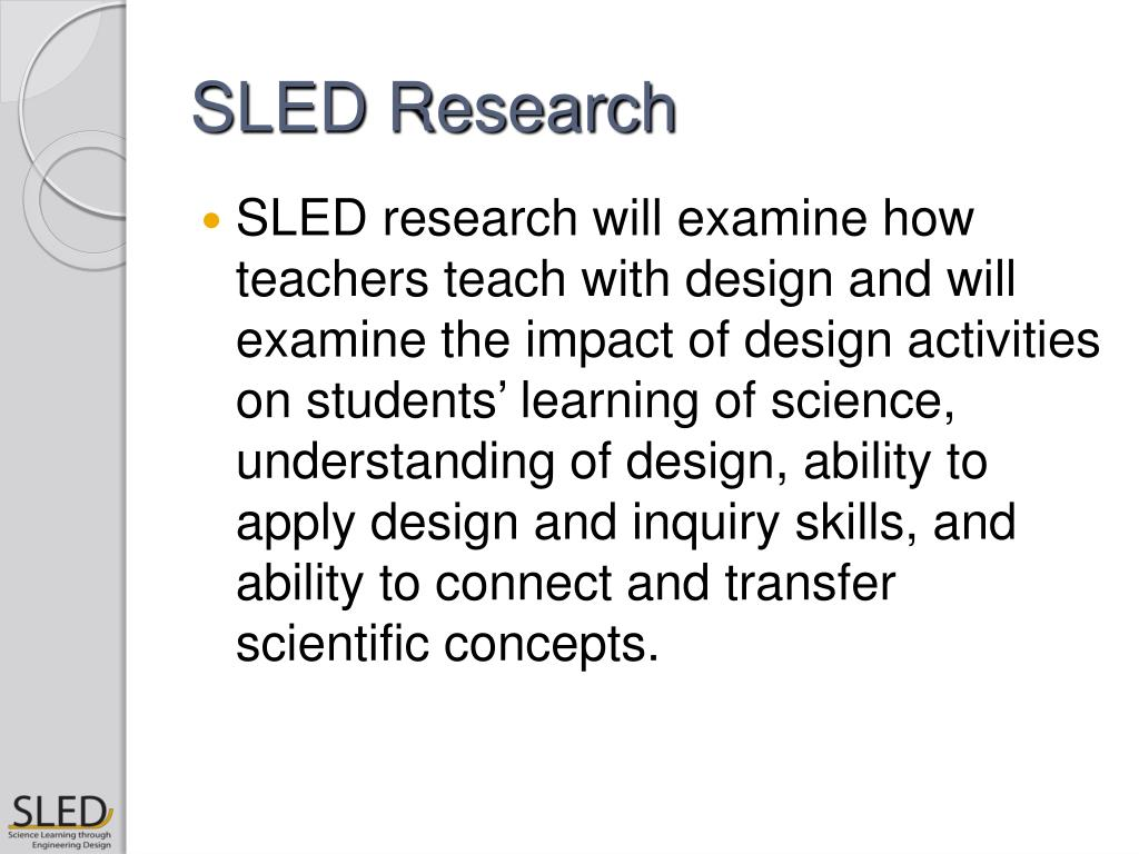 SLED Research