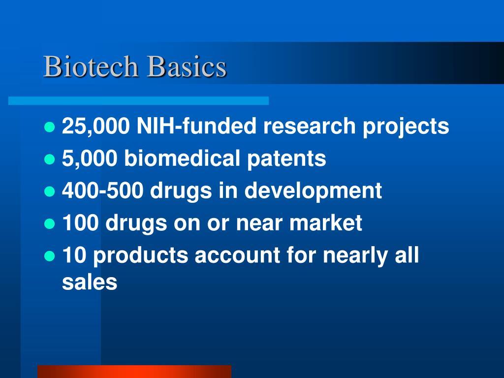 Biotech Basics