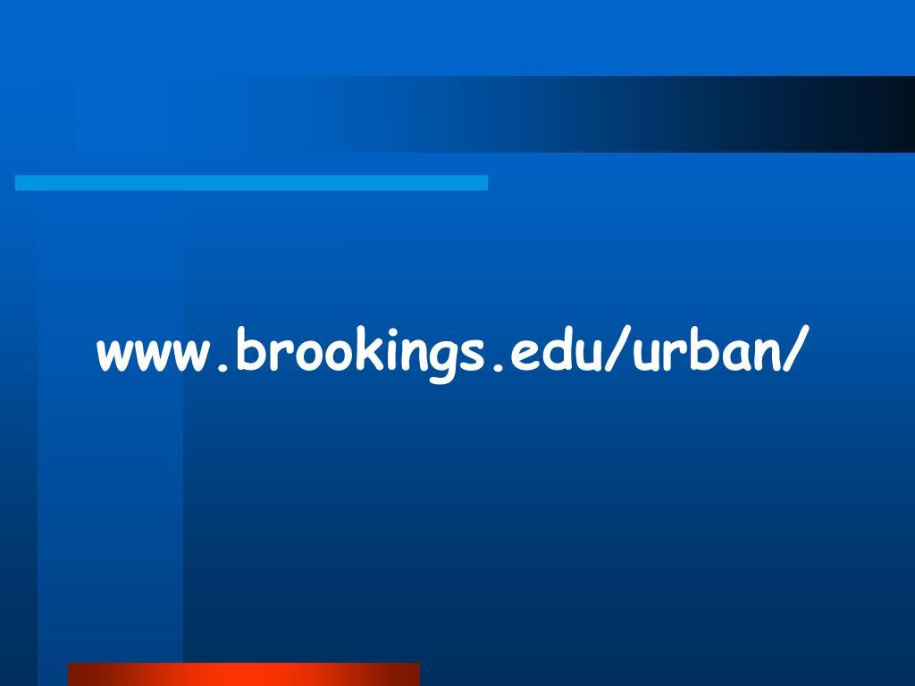www.brookings.edu/urban/