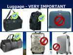 luggage very important14