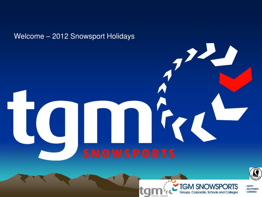 Welcome – 2012 Snowsport Holidays
