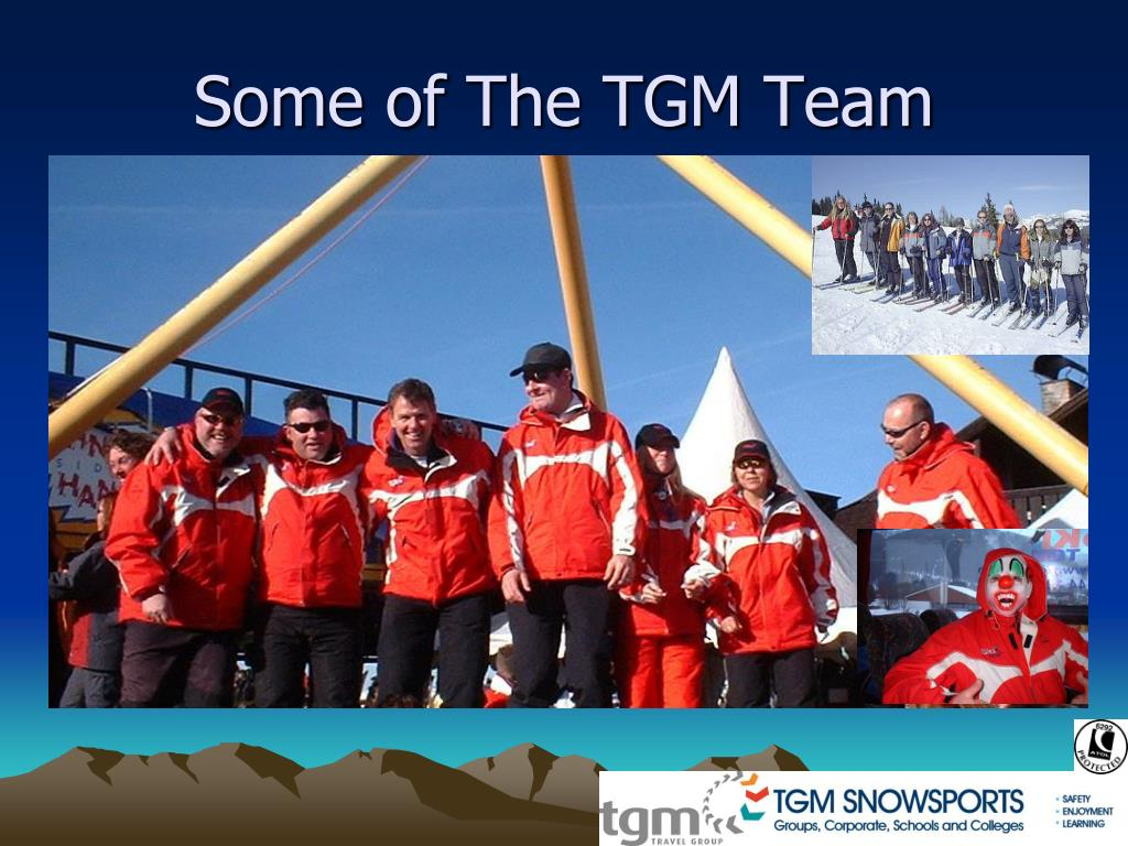 Some of The TGM Team