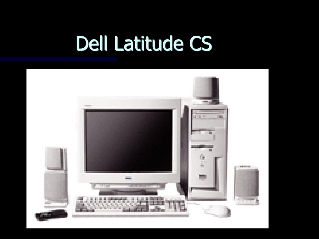Dell Latitude CS