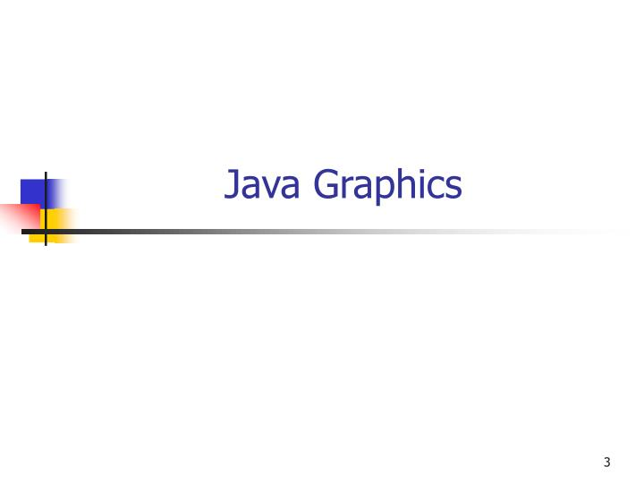 Java graphics