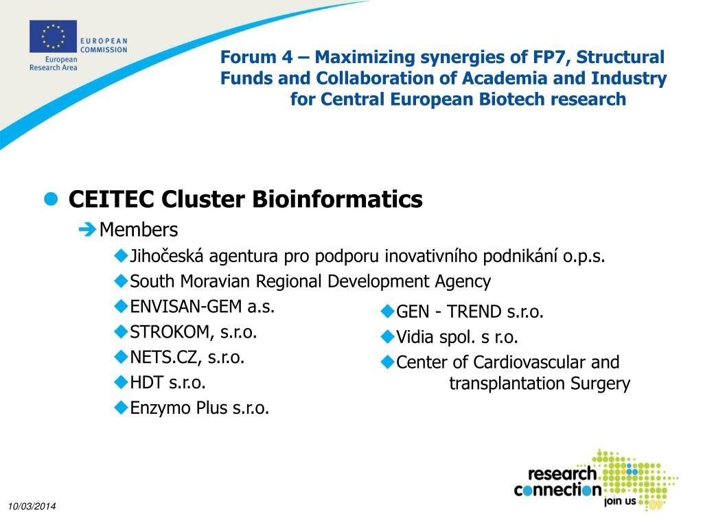 CEITEC Cluster Bioinformatics
