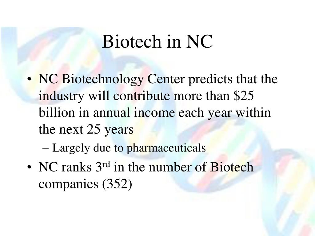 Biotech in NC