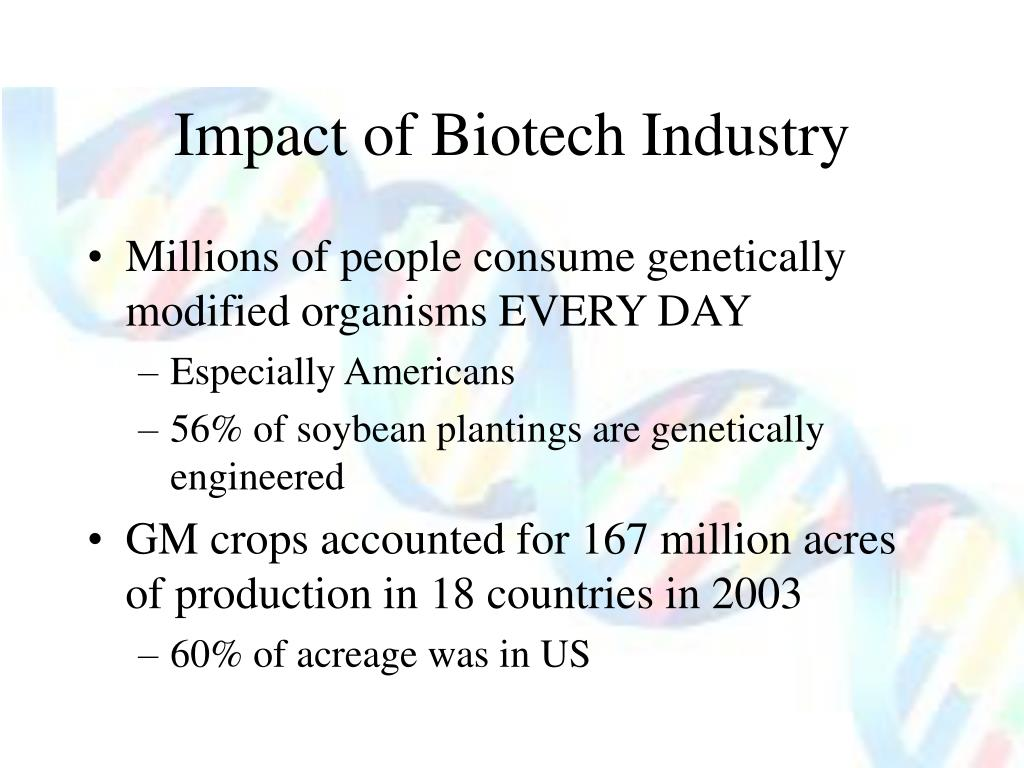 Impact of Biotech Industry