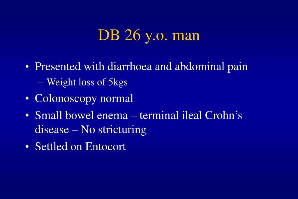 DB 26 y.o. man