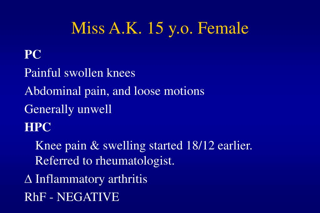 Miss A.K. 15 y.o. Female