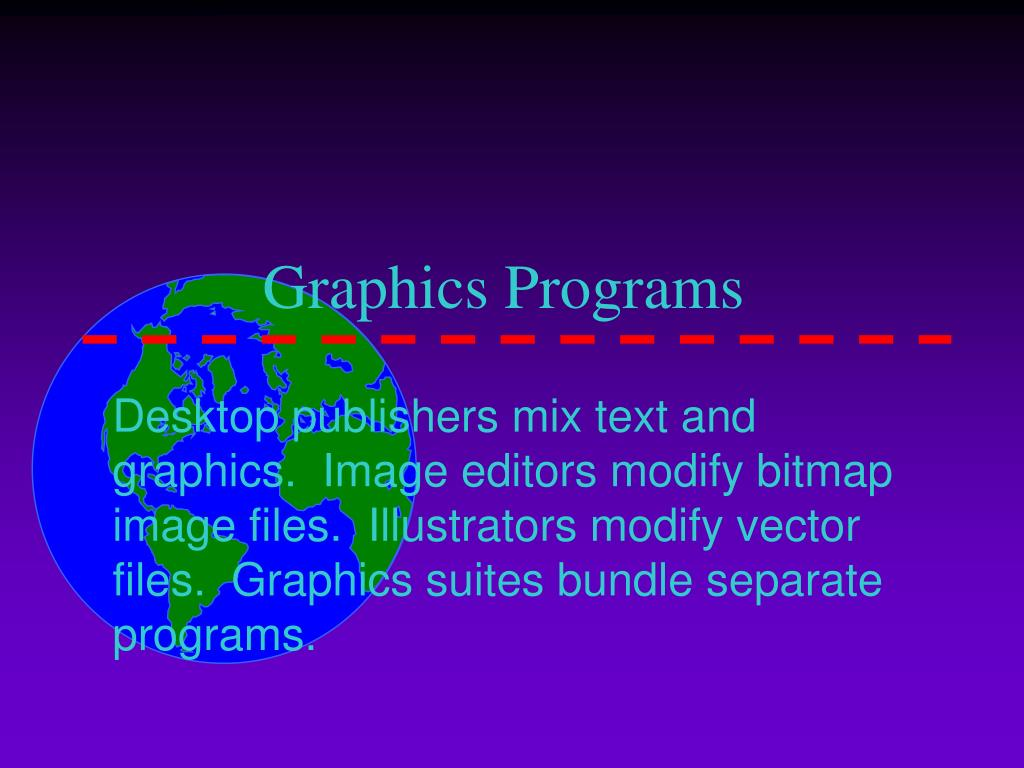 Graphics Programs
