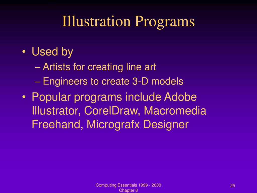 Illustration Programs