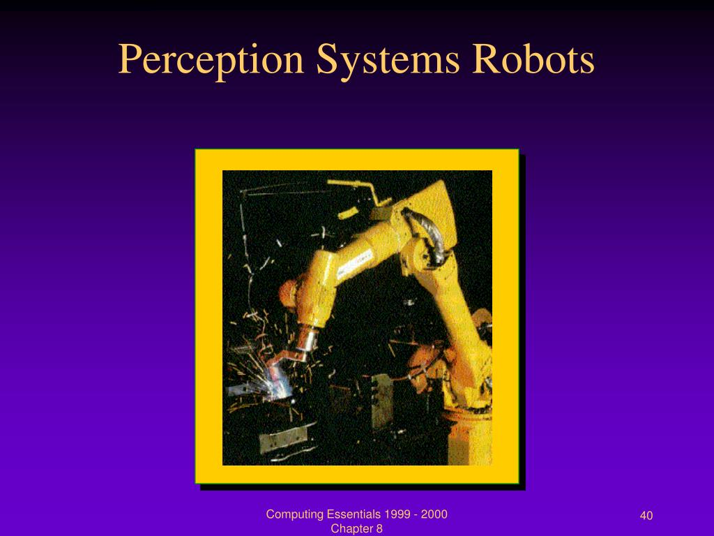 Perception Systems Robots
