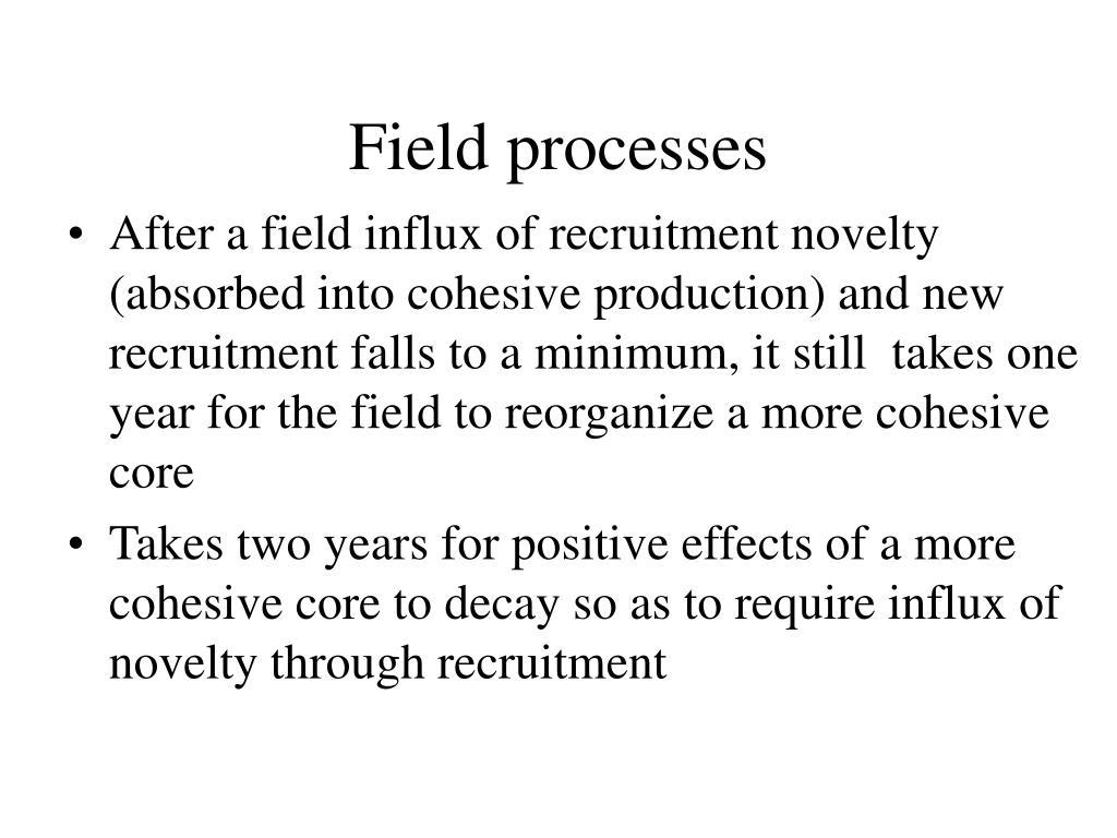 Field processes
