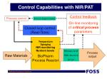 control capabilities with nir pat