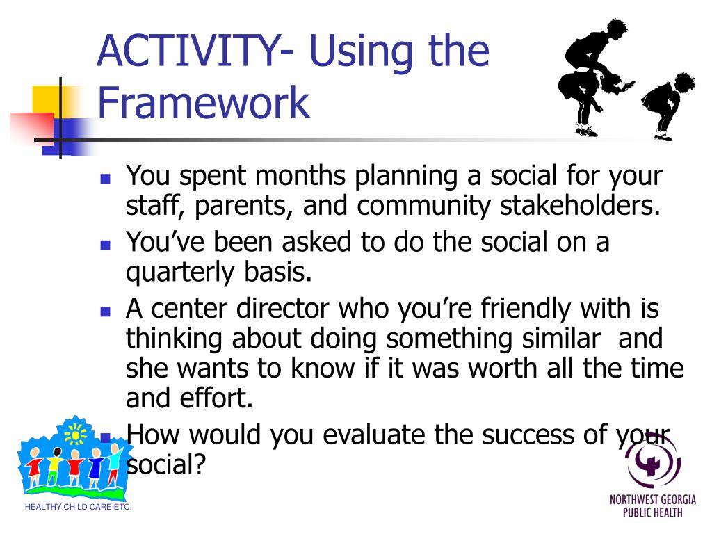 ACTIVITY- Using the Framework