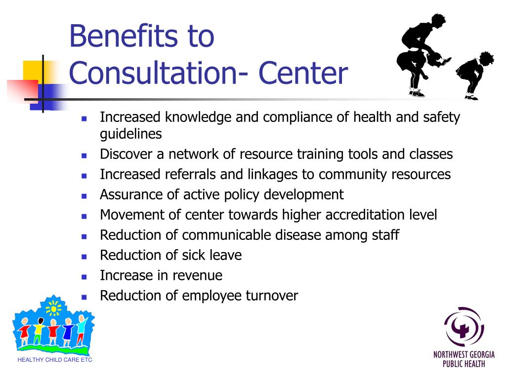 Benefits to Consultation- Center