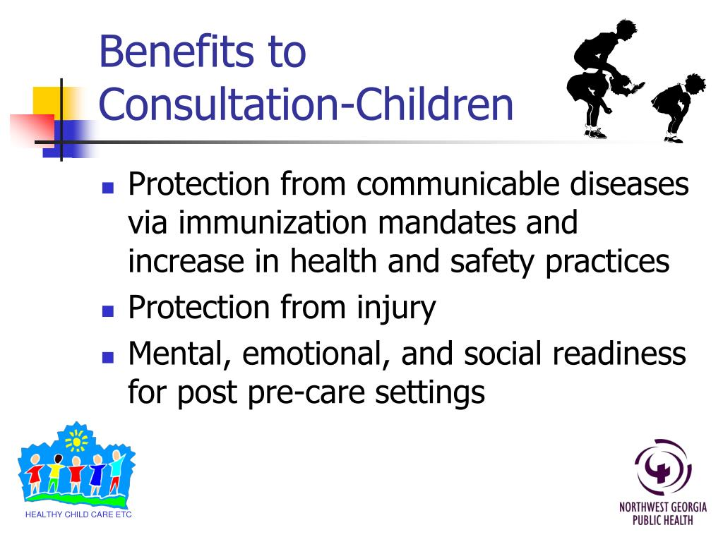 Benefits to Consultation-Children