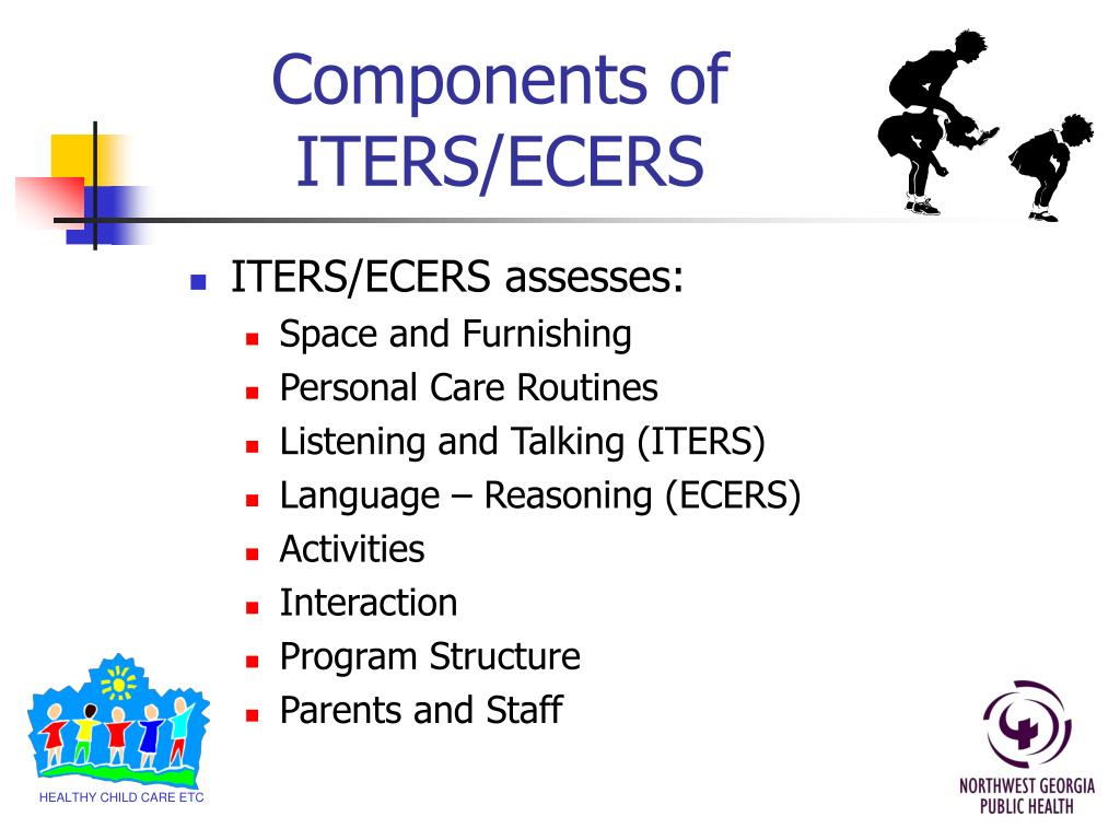 Components of ITERS/ECERS