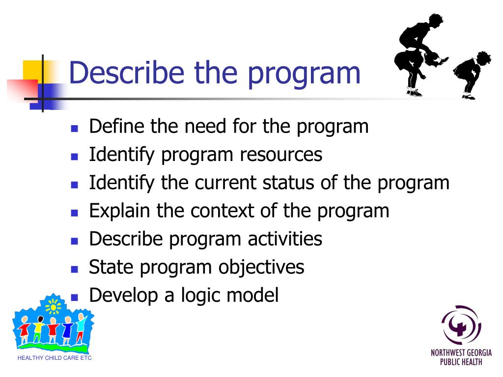Describe the program