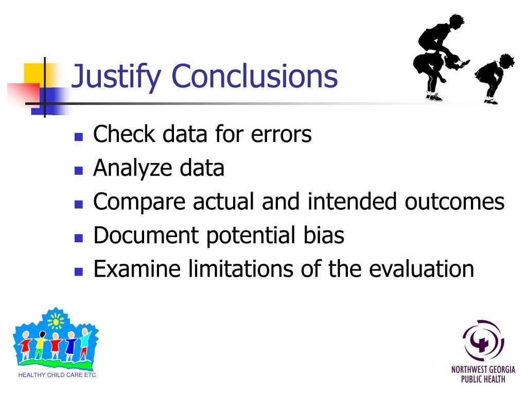 Justify Conclusions