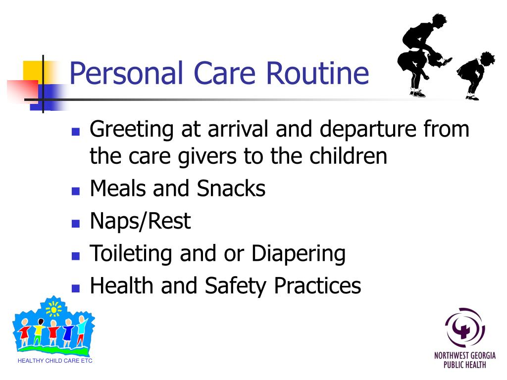 Personal Care Routine