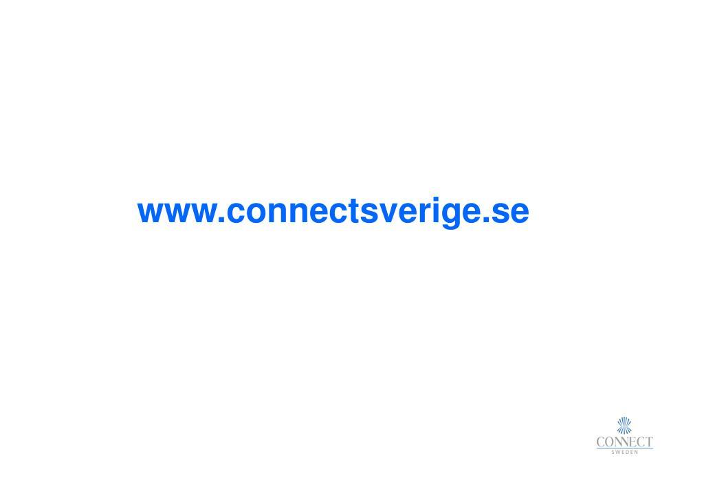 www.connectsverige.se