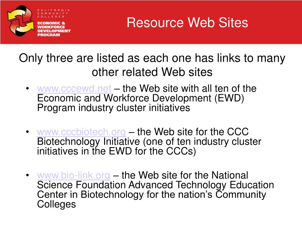 Resource Web Sites