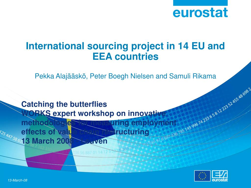 International sourcing project in 14 EU and EEA countries