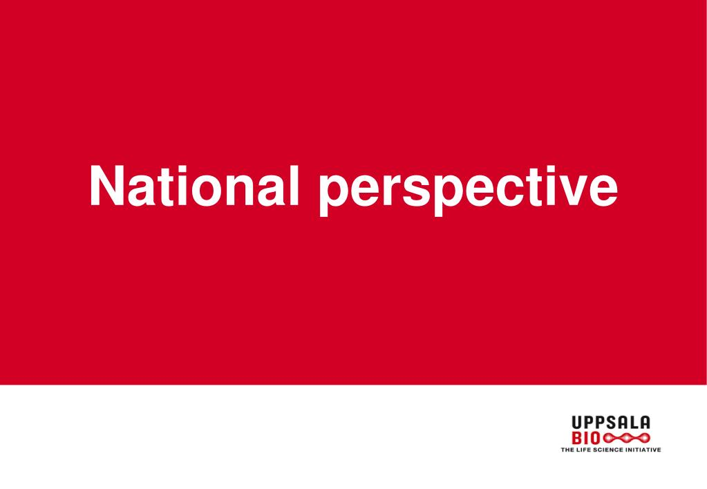 National perspective