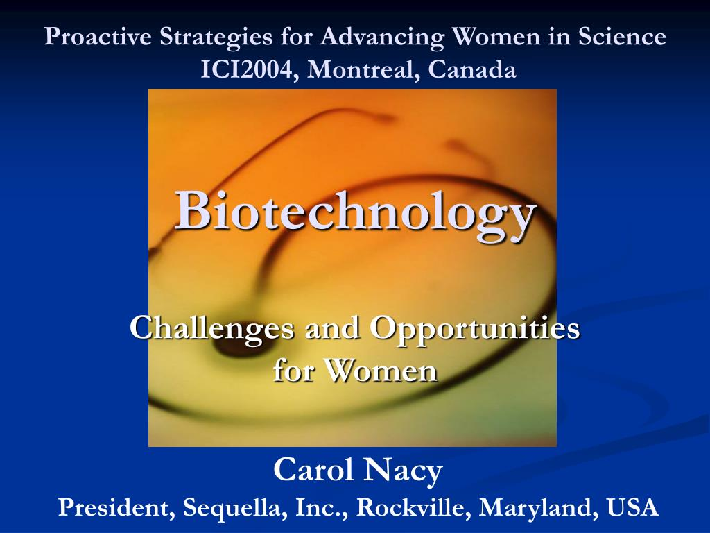Proactive Strategies for Advancing Women in Science
