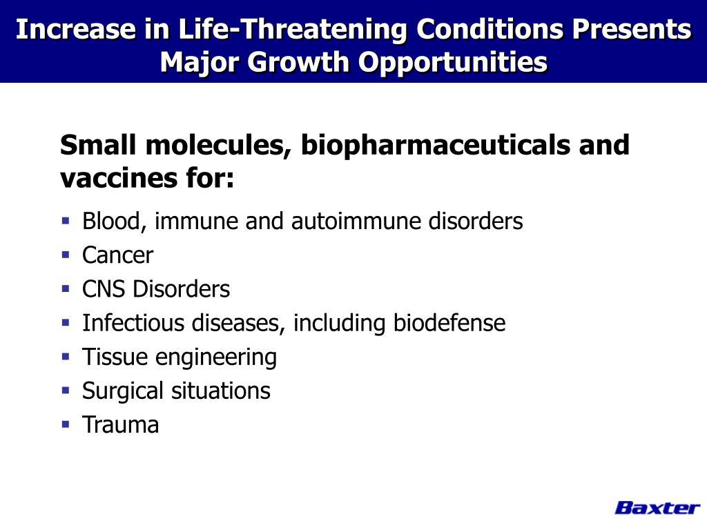 Blood, immune and autoimmune disorders