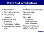 what s next in technology
